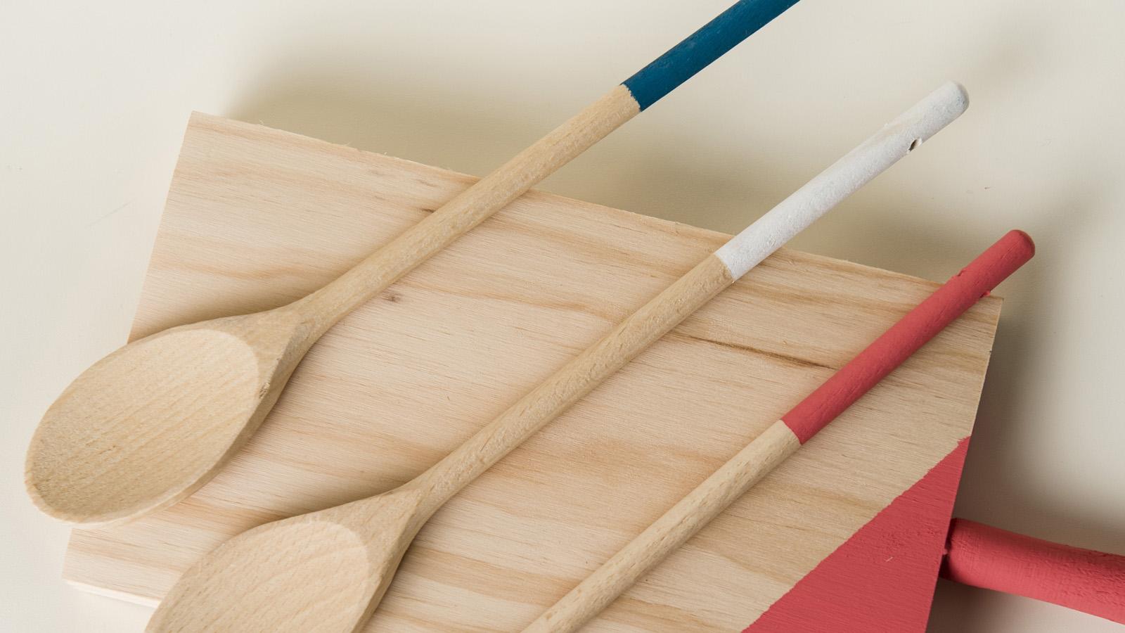 Customiza tu casa Cap 8: Cómo llenar de color unas cucharas de ...
